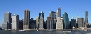NYC Skyline on Yoga at Work Corporate Yoga Teacher Website