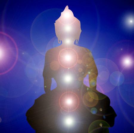 Chakra Buddha Image on Ithaca Chakra Class